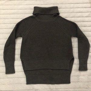Mendocino Gray Turtleneck Sweater